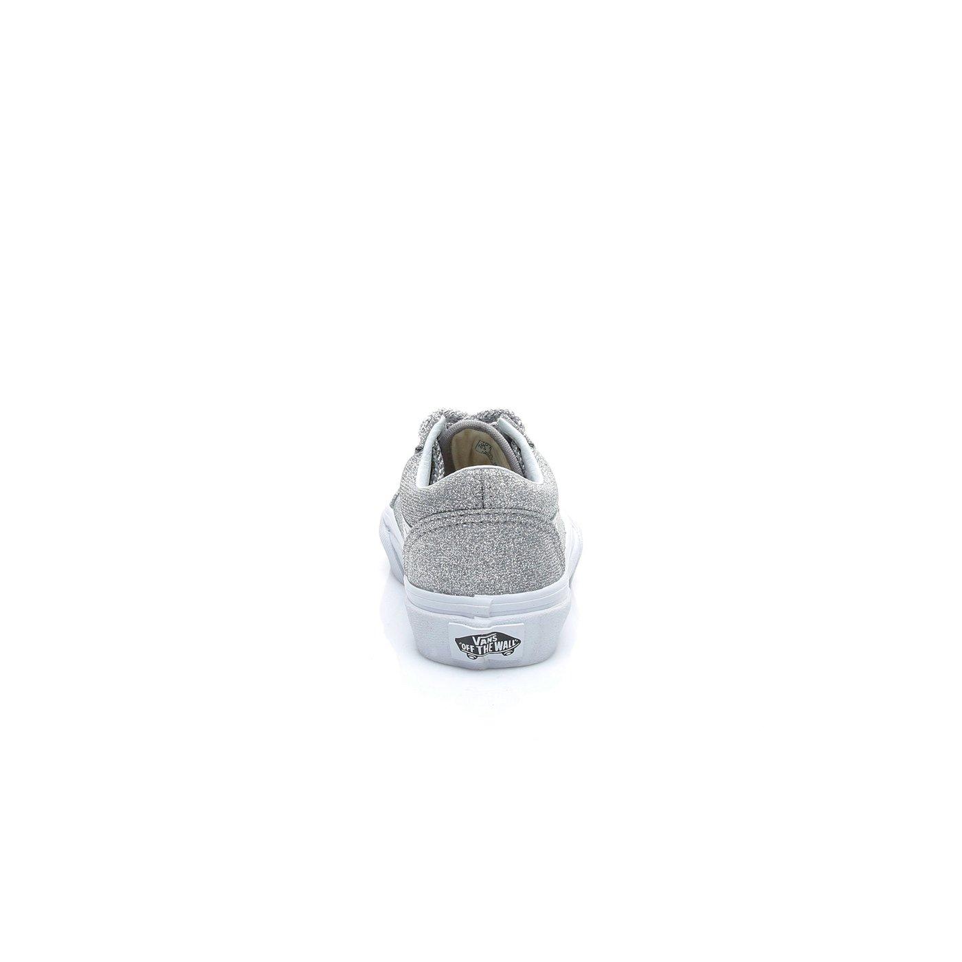Vans UY Old Skool Unisex Çocuk Gümüş Sneaker