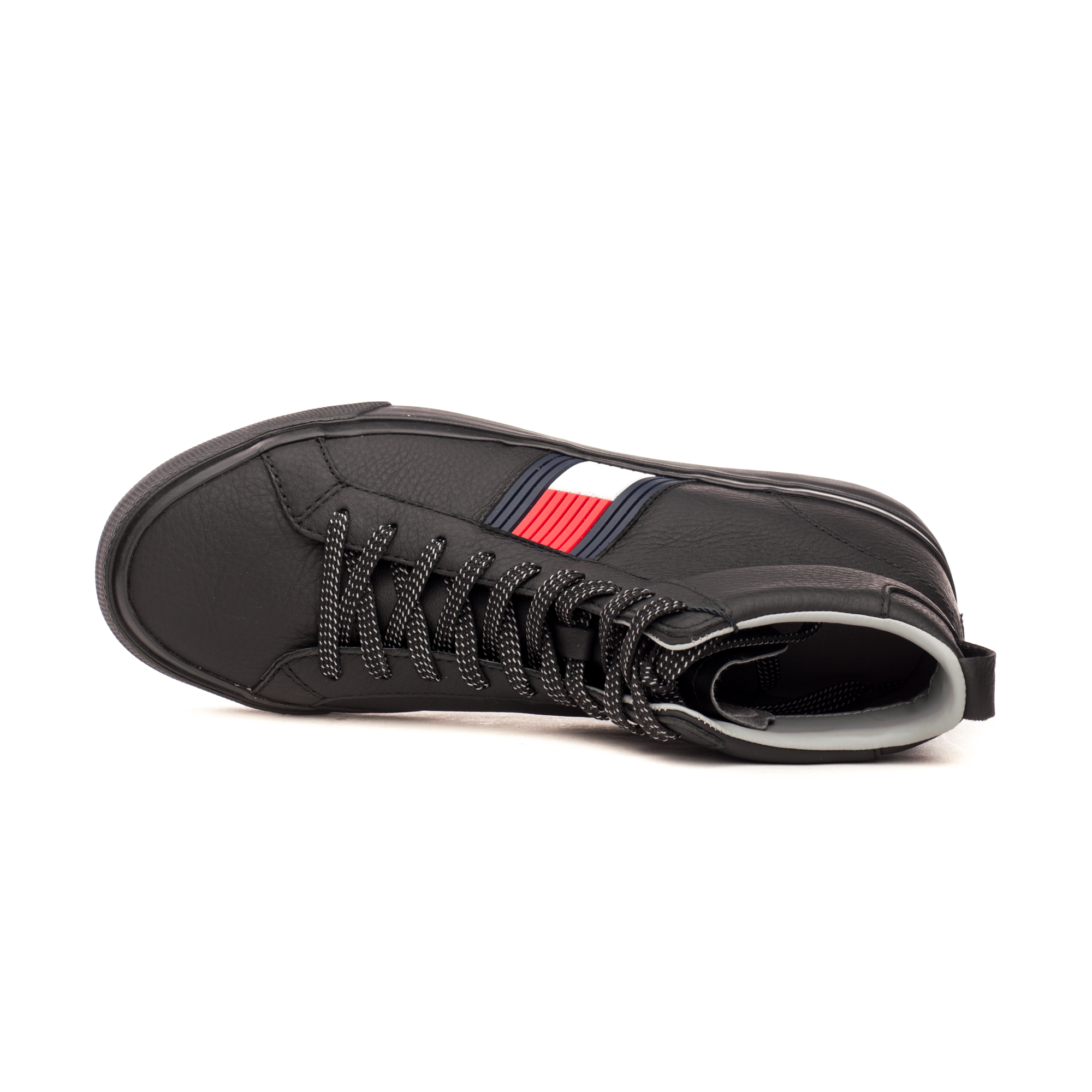 Черевики чоловічі Tommy Hilfiger FLAG DETAIL HIGH LEATHER SNEAKER