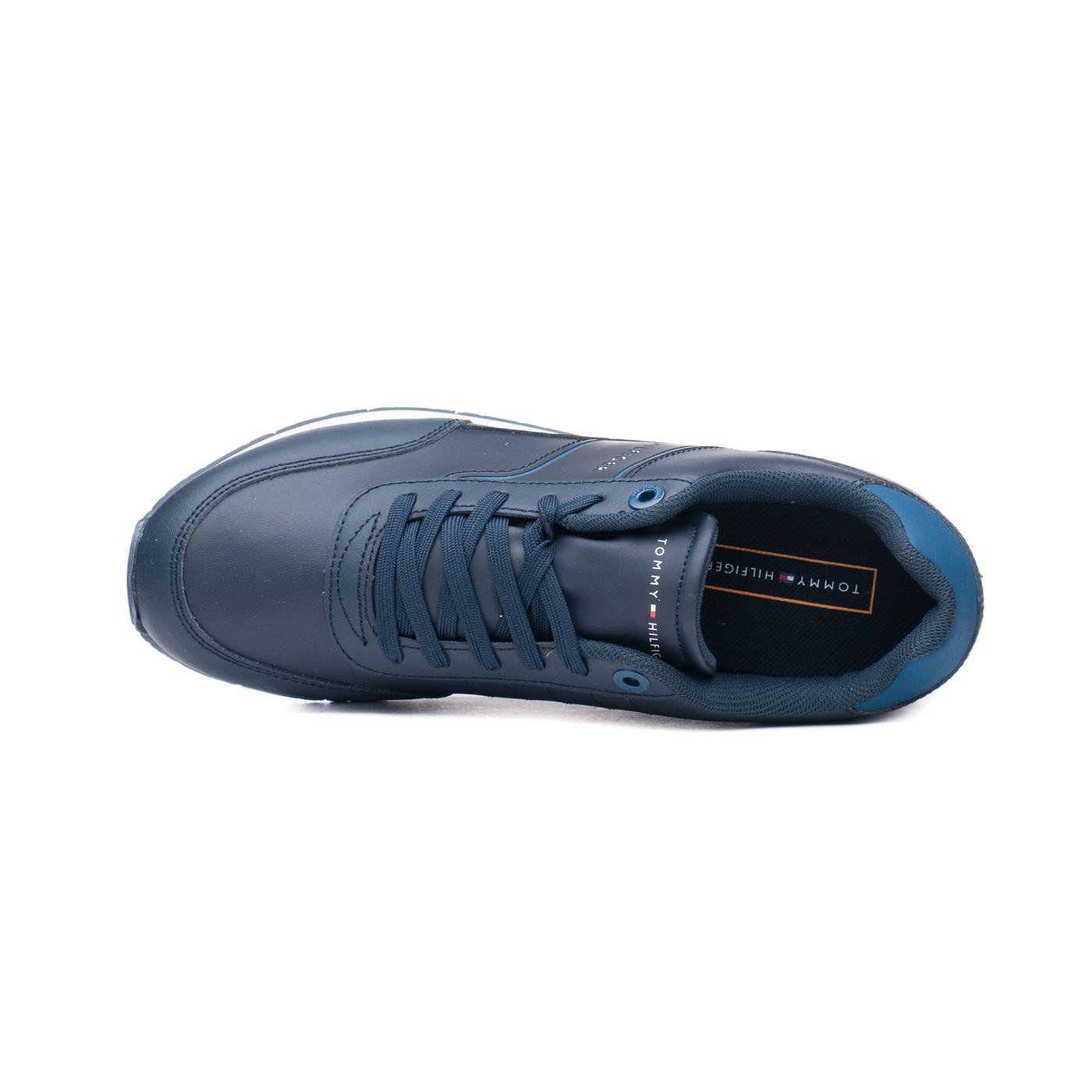 Кросівки чоловічі Tommy Hilfiger CORPORATE LEATHER RUNNER