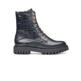 Черевики жіночі Tommy Hilfiger CROCO LOOK FLAT BOOT